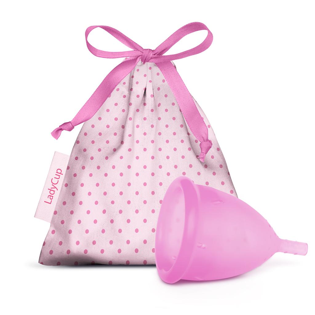 LadyCup Menstrual Cup Pink