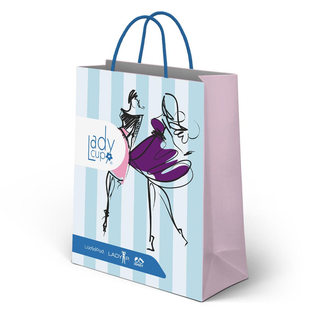 ladycup gift bag