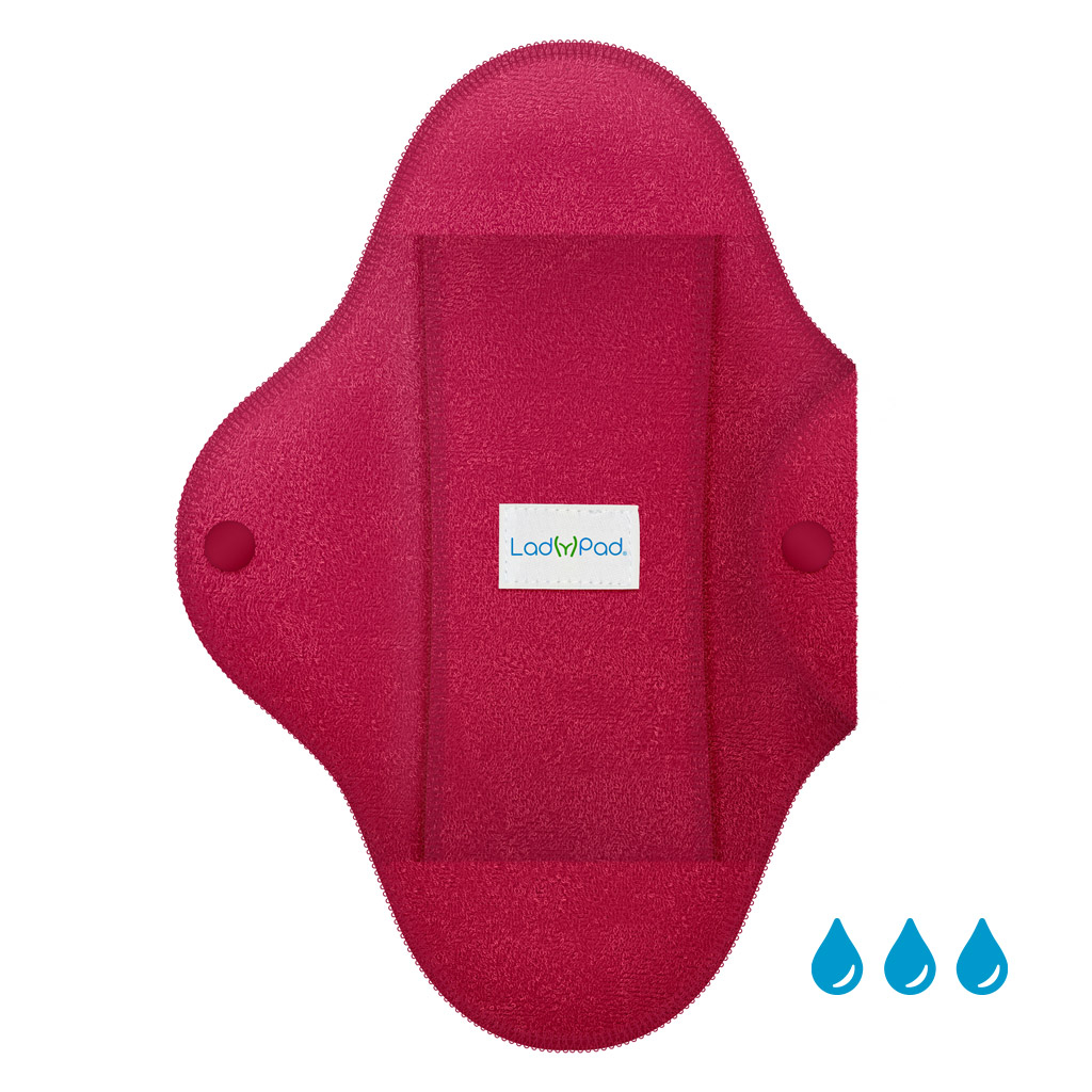 LadyPad Pad and Liner French Fuchsia