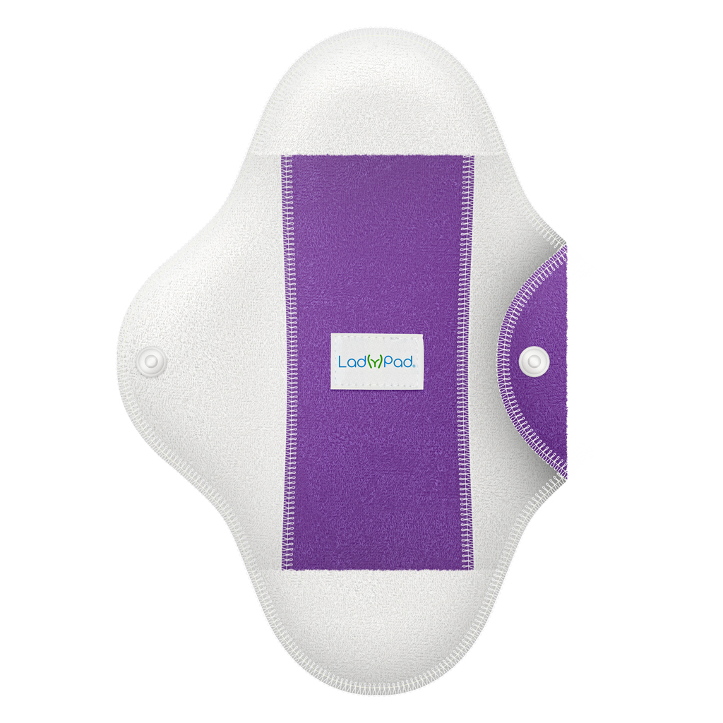 LadyPad One Half Coloured Pad and Liner Touch of Lavender