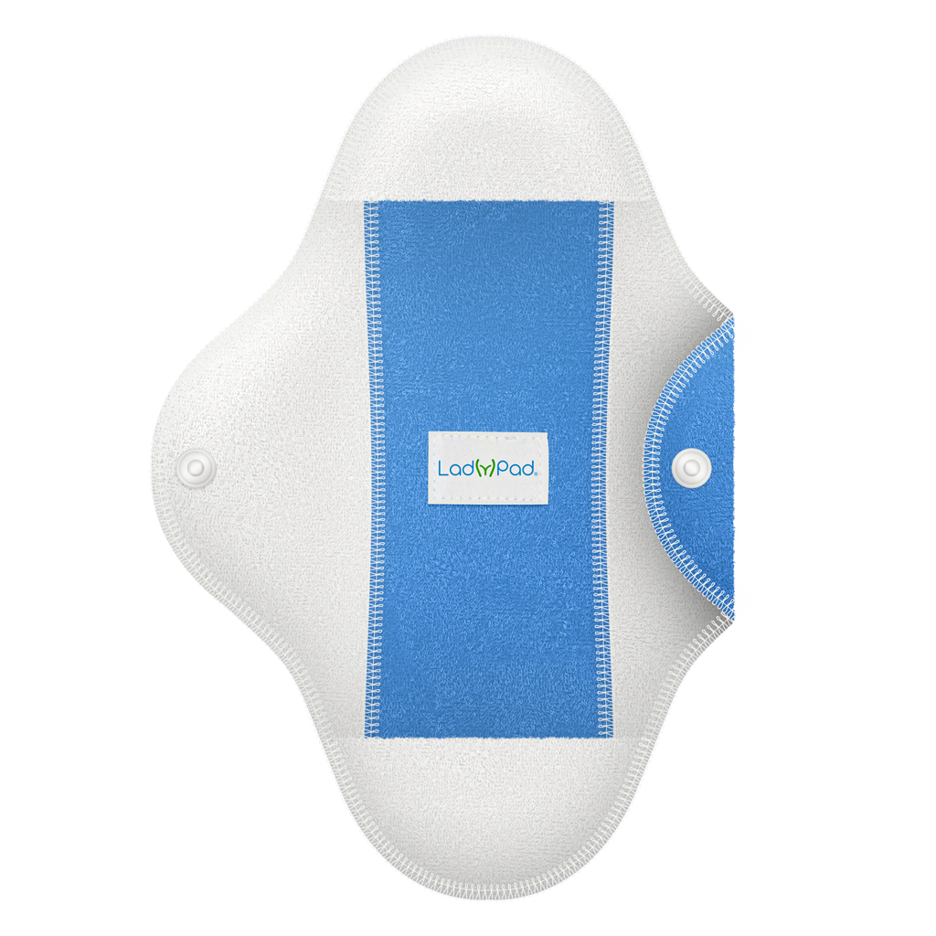 LadyPad One Half Coloured Pad and Liner Fresh Air