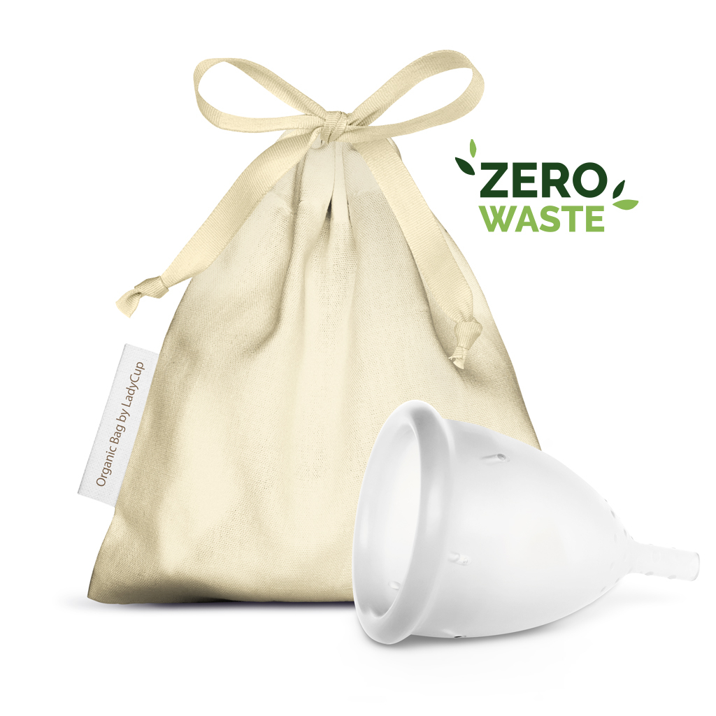 LadyCup Menstrual Cup Eco Plastic Free