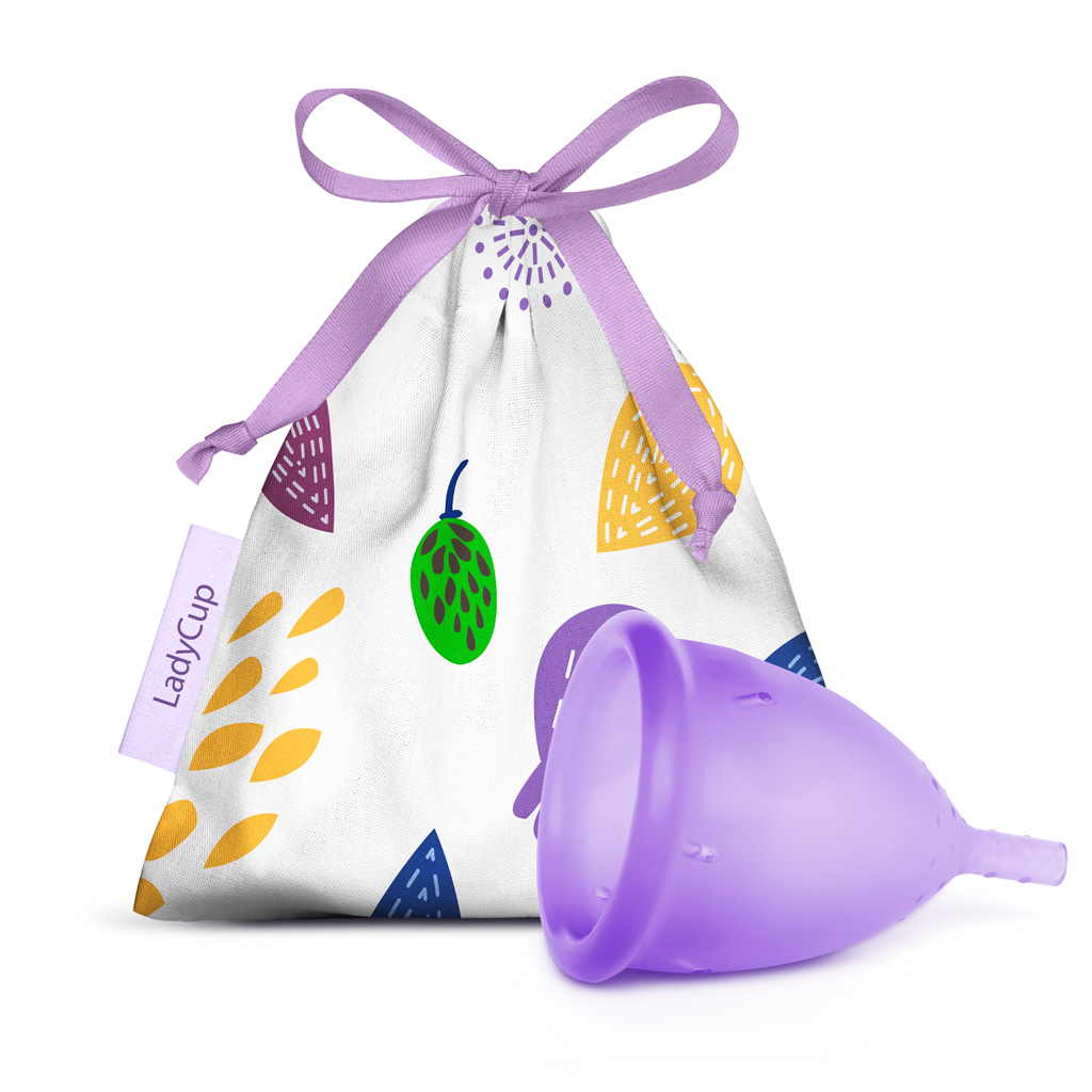 LadyCup Menstrual Cup Lilac