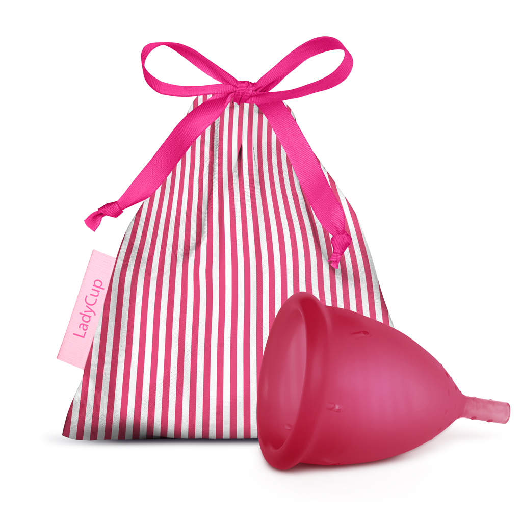 LadyCup Menstrual Cup French Fuchsia