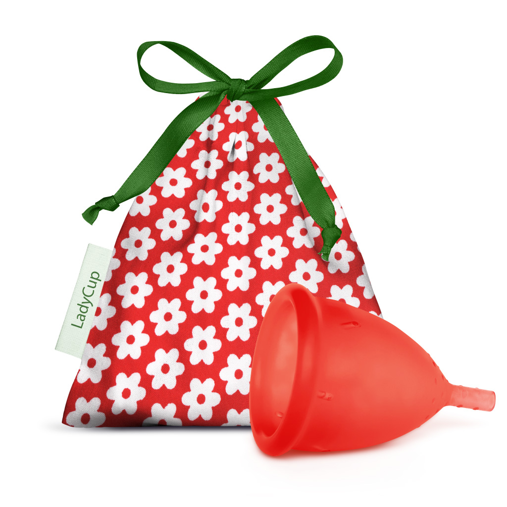 LadyCup Menstrual Cup Wild Cherry