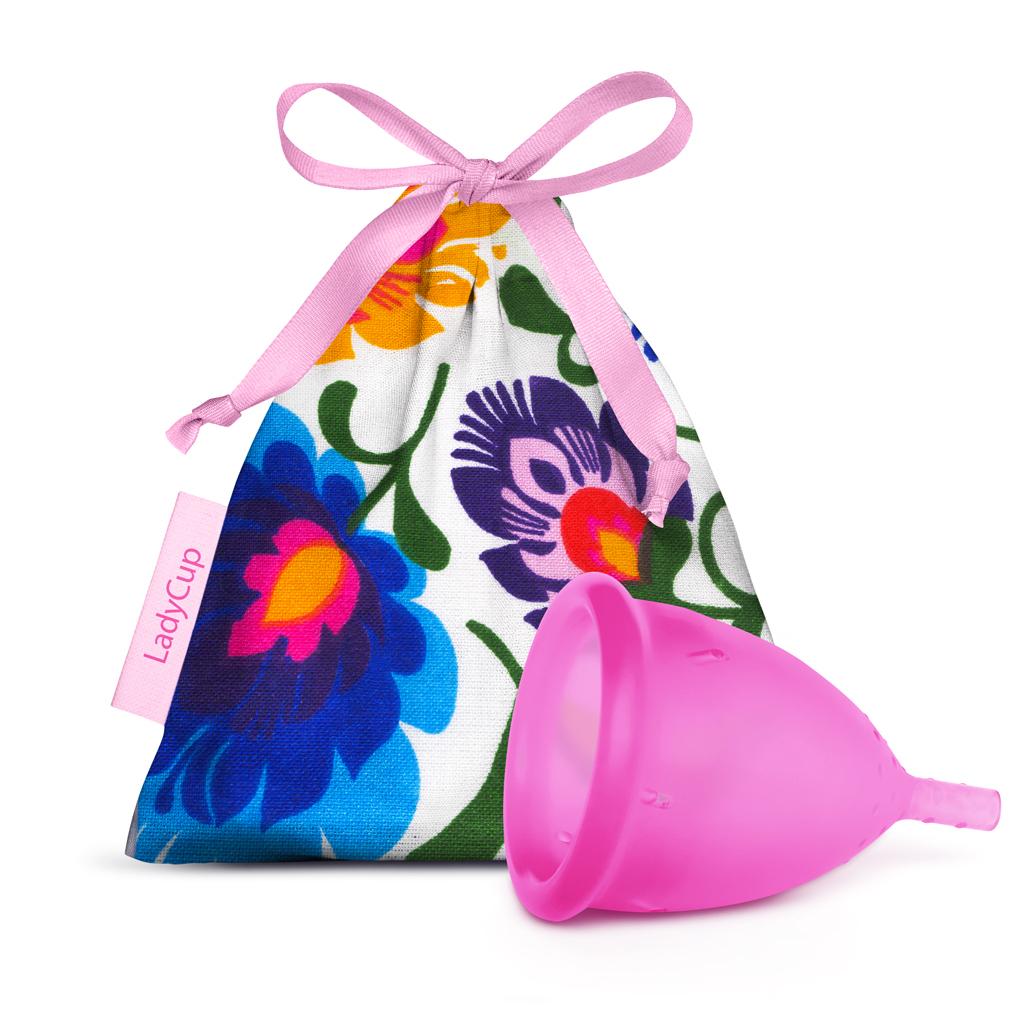 LadyCup Menstrual Cup Wild Honeysuckle