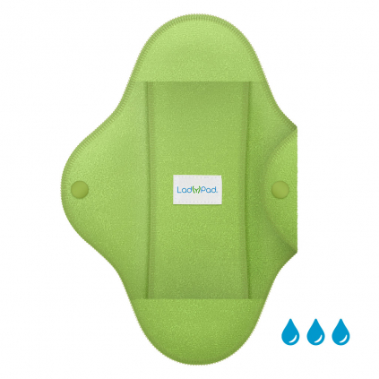 LadyPad Pad and Liner Mint Green