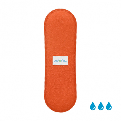 ladypad liner insert oranzova