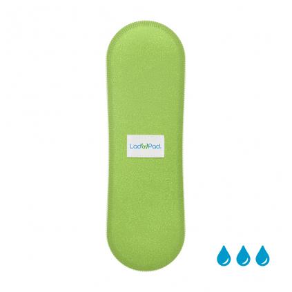 ladypad liner insert matova zelena