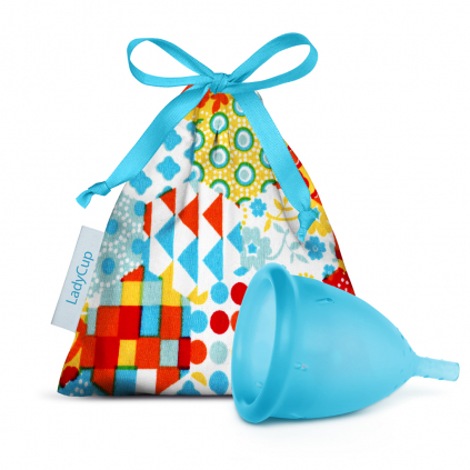 LadyCup Menstrual Cup Turquoise
