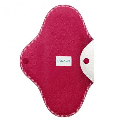 LadyPad One Half Coloured Pantyliner French Fuchsia