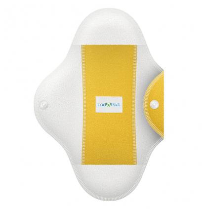 ladypad pads and liners half zluta