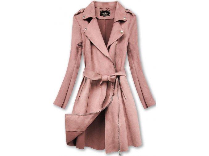 Semišový kabát (BIG)