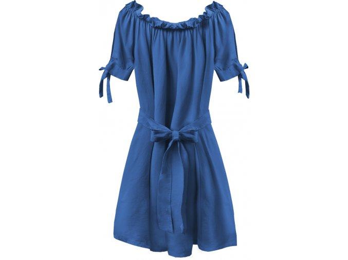 Šaty Hispánka so stuhou