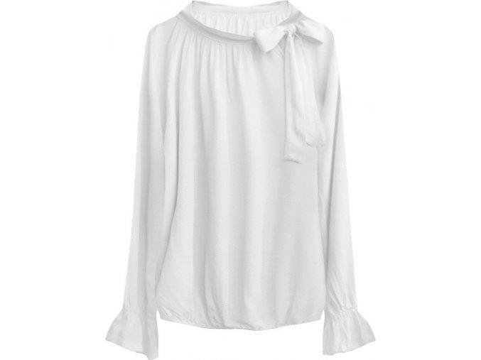 Bavlnená blúzka s mašľou (UNI)