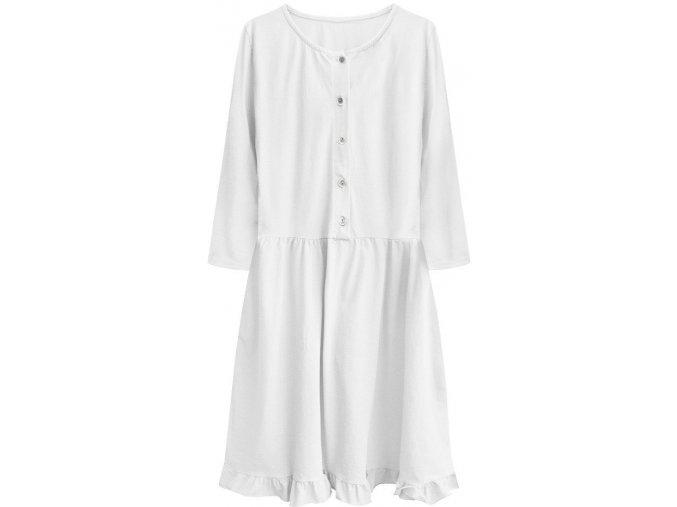 Ľahké bavlnené šaty Oversize