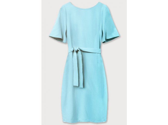 Elegantné šaty s opaskom