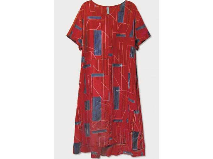 Bavlnené šaty krátky rukáv (BIG)
