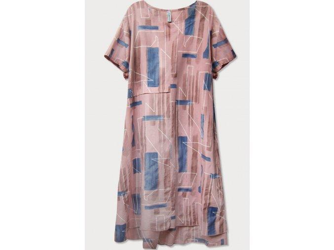 Letné košeľové šaty