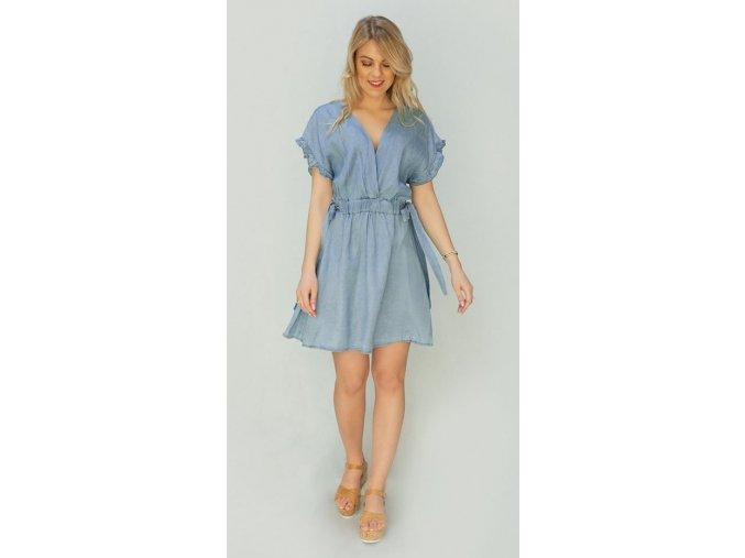 Riflové mini šaty
