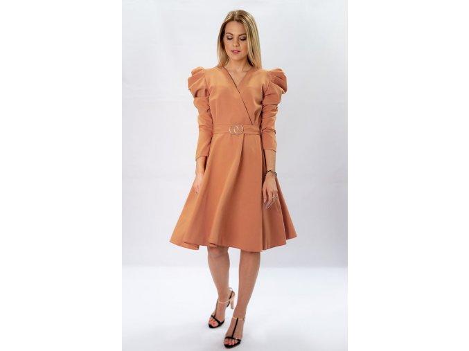 Elegantné šaty s volánmi