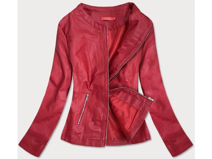 Krátka kožená bunda (BIG)