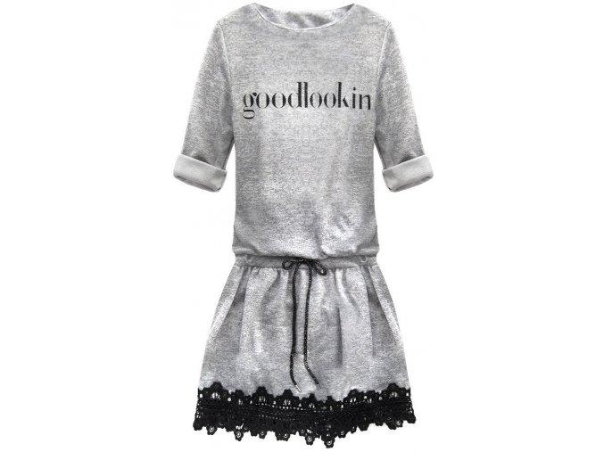 Bavlnené šaty GOODLOOKIN