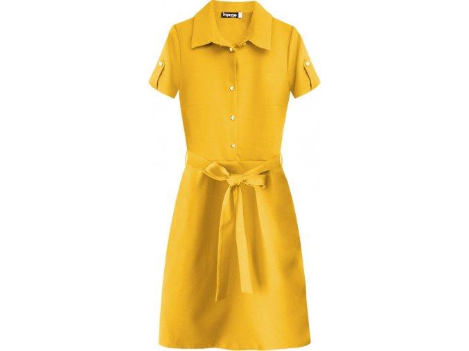 Šaty s límčekom