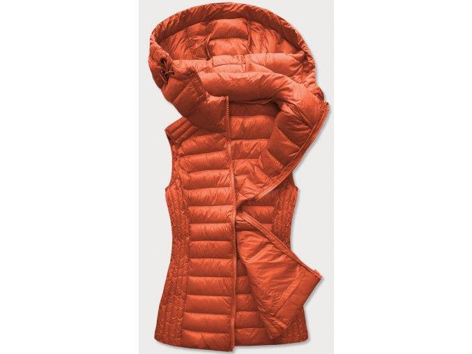 Farebná prešívaná vesta