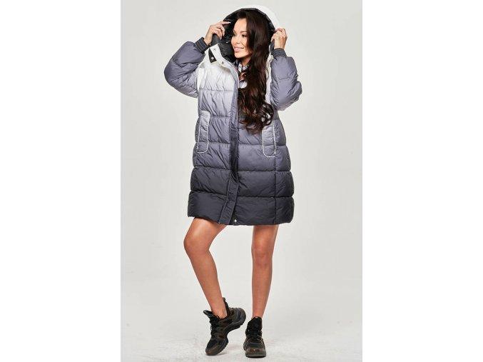 Dámska Ombre zimná bunda