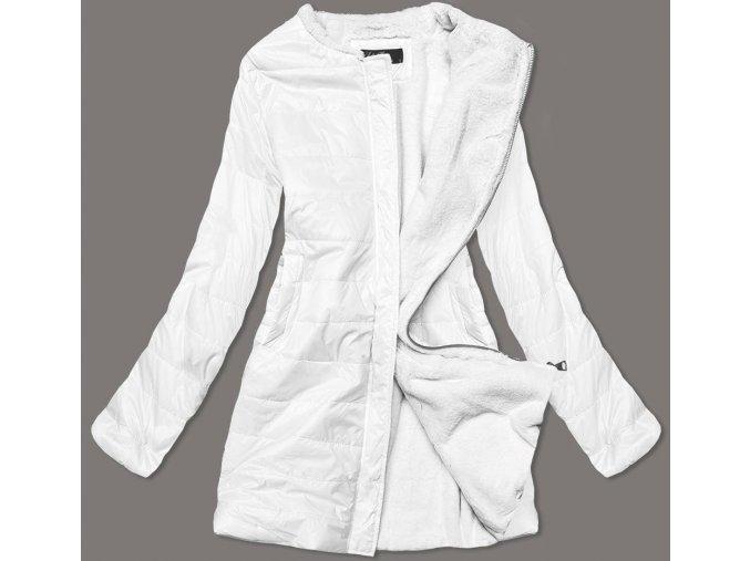 Prechodná dámska bunda s niky plyšom
