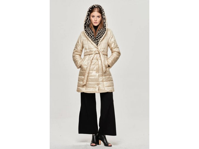 Ľahká zimná bunda