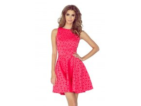 Dámske šaty red 125-13