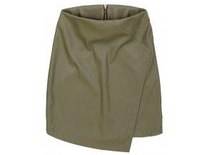 Prekladaná mini sukňa