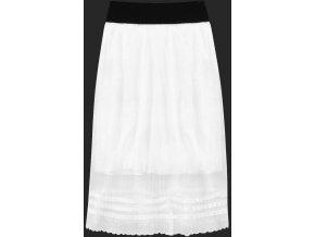 Vzdušná nariasená sukňa