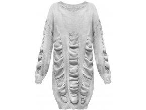 Predĺžený dámsky sveter