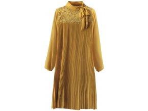 Voľné plisované šaty
