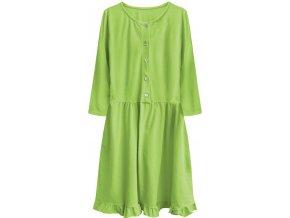 Bavlnené šaty Oversize