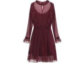 Priehľadné šaty