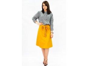 Jednoduchá krátka sukňa