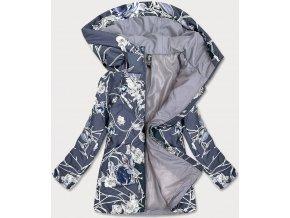Dámska bunda so vzorom (BIG)