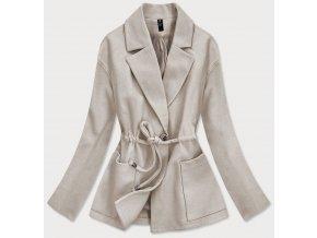 Ľahký krátky kabát
