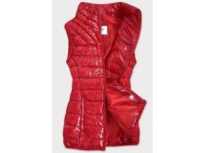 Lesklá prešívaná vesta (BIG)