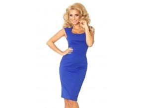 Přiléhavé šaty - modre 53-10