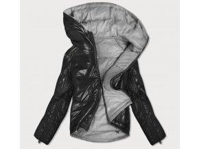 Obojstranná krátka zimná bunda