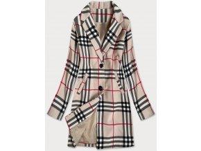 Dlhý dámsky kabát