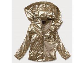 Lesklá prechodná bunda (BIG)