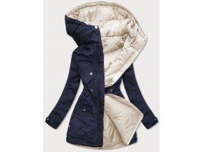 Obojstranná dámska prechodná bunda