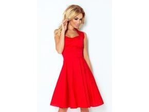 Rockabilly šaty -  červená 30-18