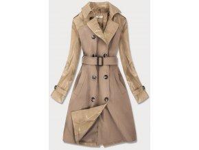 Dlhý ľahký dámsky kabát